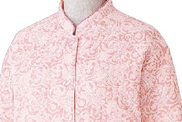 婦人 ボタンの留め外しが楽な大きめボタンキルトパジャマ 秋冬 S〜LLサイズ 89777