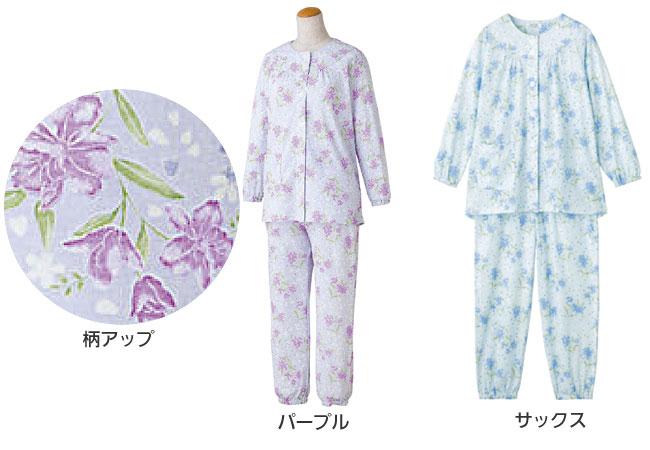 婦人 小柄な方におすすめ ワンタッチプチサイズパジャマ M・Lサイズ 89784 のカラー