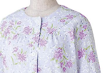 婦人 小柄な方におすすめ ワンタッチプチサイズパジャマ M・Lサイズ 89784