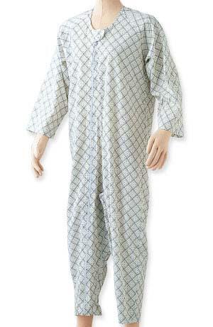 エコノミー上下続き服(介護つなぎパジャマ) S・M・L