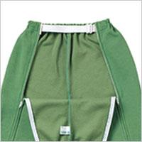 スクエアニット裾リブ付き全開ズボンSMLの説明