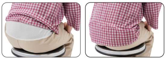 腰部伸縮性メッシュ