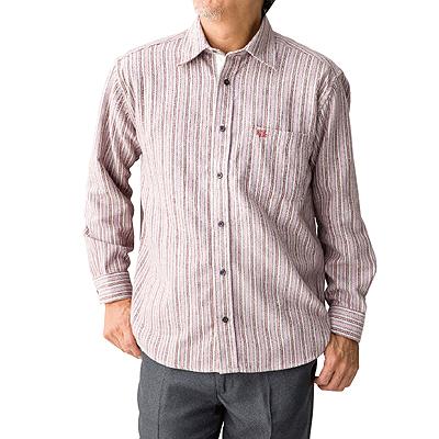カフス仕様スナップボタンシャツ 秋冬紳士用 A0389237
