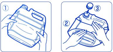 手指消毒液 アルボナース 4リットルの説明