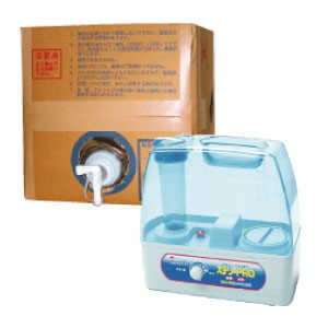 ステリ・PRO(ステリプロ) 送料無料  衛生除菌剤 専用加湿器・20リットル原液セット病院施設