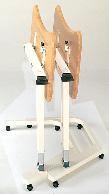 簡易式昇降テーブル(机・つくえ) 【車椅子(車いす)対応】 収納