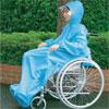 車椅子用レインコート チェアマント 袖付きタイプ