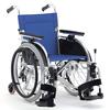 自走型車椅子(背折りたたみ) タイトターン TT-01 室内用6輪車いす