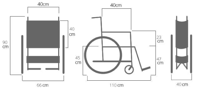 片手駆動車椅子 ダブルリング式ワンハンドスカルCM-62の説明