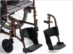 YAMAHA電動ユニット装着 軽量コンパクト電動車椅子 JWX-1Mの説明