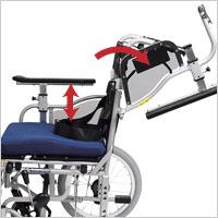 自走用車椅子 KZMシリーズの説明