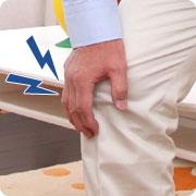 電動スタンドアップ車椅子 Rittonリットン 座位から立位の説明
