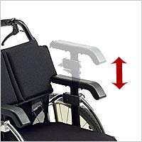 モジューラーシステム自走用車椅子 ライラック LILAC STANDARDの説明