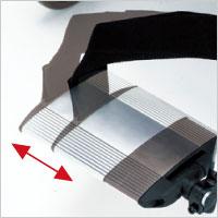 ティルト&リクライニング介助用車椅子 マイチルトグラン3D MH-GR 大柄な方に スイングアウトの説明