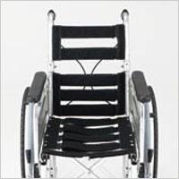 モジューラー自走用車椅子 EX-M3 シート幅変更は工具不要の説明