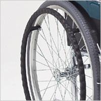 スチール製スタンダード車椅子 中床タイプ DM-91 病院向けの説明