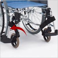 肘掛はねあげ&スイングアウト自走用車椅子 CM-251 病院向けの説明