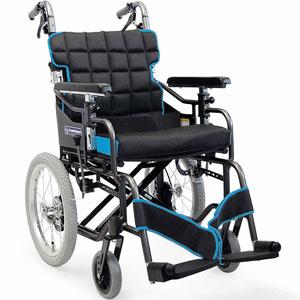 標準型モジュール介助用車椅子 KM16-40(42)SB-M 中床タイプ