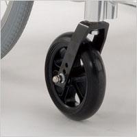 スチール製車椅子 介助用 背固定タイプ KI-12の説明
