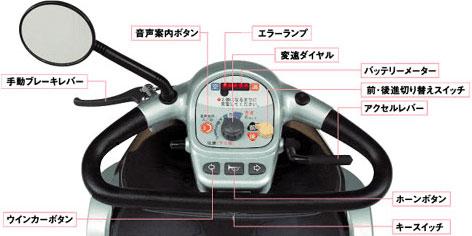 遊歩 フレンドSBT400 電動カートの説明