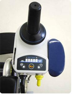 電動ユニット車椅子KA822-40(38・42)B-M-ABF2/JWX-1N 自走用操作ユニットのみの説明