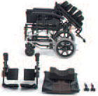 ティルトモジュールリクライニング車椅子 GF・Uni_spの説明