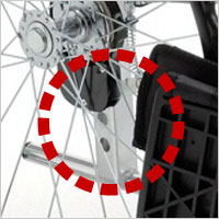 座面高さ調節+低座面車椅子 自走用 BAL-0S 介助ブレーキなしの説明