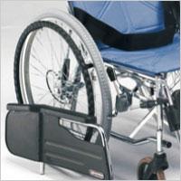 スチール製リクライニング車椅子 自走用 背・足別動 CM-50の説明