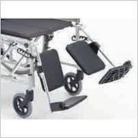 リクライニング車椅子 介助用 BAL-14 無段階リクライニング 施設・病院のえれべーてぃんぐ