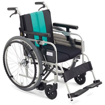 自走用車椅子 とまっティMBY-41B SW 低床タイプ ブレーキかけ忘れサポート転倒防止