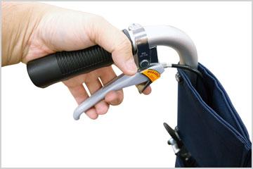 パーキング機能付き介助ブレーキ