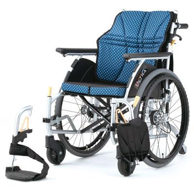 自走用車椅子 NA-U6 ウルトラシリーズ 6輪タイプ