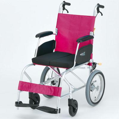 介助用車椅子 KALU7α(NAH-L7α) Cパッケージ 座クッション付き