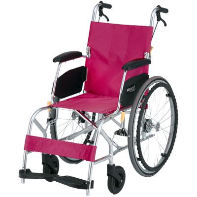自走用車椅子 KALU8α(NAH-L8α) Aパッケージ ノーパンクタイヤ