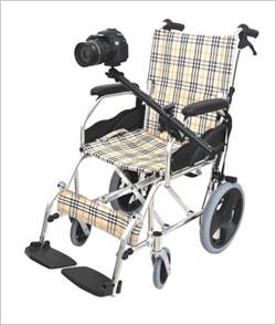 パイプ固定アーム プラティーク PRT-ST 車椅子やベッドにカメラ・スマホを固定