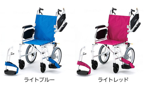 介助用車椅子 KALU7αW(NAH-L7αW) 超軽量多機能車椅子のカラー