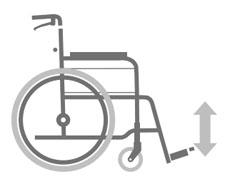 カワムラサイクル介助用車椅子 モダン多機能Bタイプのサイズ