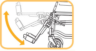 ティルト&リクライニング介助用車椅子 マイチルト