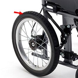 在宅向き超軽量コンパクト介助用車椅子 CRT-2-CZ モジュールタイプ