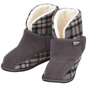 室内履き介護靴 ワイドボアオープン 2245 両足販売 冬物