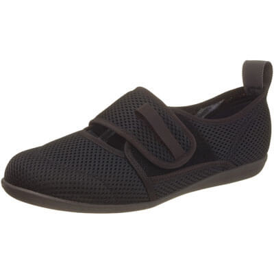 快歩主義 L085K 介護靴 足囲4E ブラックメッシュ SS?3Lサイズ 婦人靴