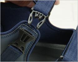 履口リブ編み構造