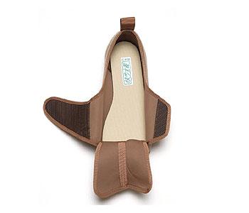 快歩主義L141RS 婦人用屋外介護靴 両足販売 4E〜7E相当まで対応の説明