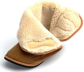 あゆみケアシューズ 大きく開くルームブーツ 両足販売 屋内用介護靴 冬物