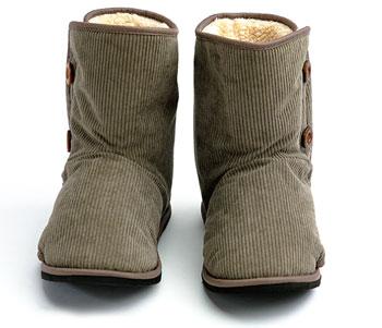 あゆみケアシューズ SUTTOwarm-スットウォーム 両足販売 屋内用介護靴 冬物