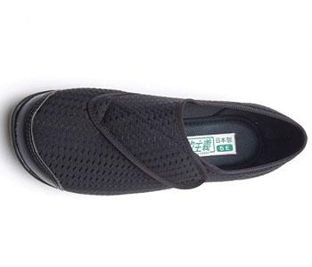 婦人 快歩主義L131RS 屋内用介護靴 両足販売の説明