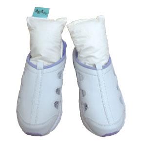 消臭達人 シューズクリーン 4足分セット 靴のにおいを消臭