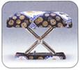 携帯用正座椅子 夢創造 高さを低い位置に設定したとき