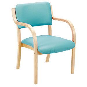 スタッキングチェア イコス 肘掛付き IKA-415 介護・福祉施設・高齢者施設向け椅子