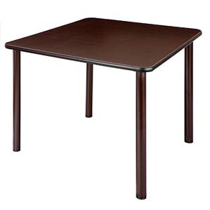 介護・福祉施設向けテーブル 4本固定脚 UFT-S0909 正方形 900×900